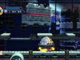 Metal Sonic i Eggmobile