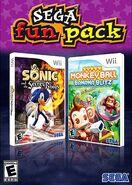 SegaFunPack SSoRSMB Wii us box