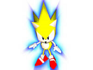 Sonic R artwork Super Sonic