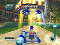 Air Pit Sonic Riders