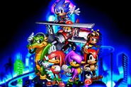 Knuckles Chaotix Sonic