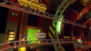 Minecarts in Sonic Lost World