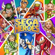 SEGA Heroes - Art 1542027995