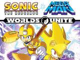 Sonic the Hedgehog/Mega Man: Worlds Unite Volume 3: Allied Forces