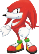 Sega World Sydney Knuckles
