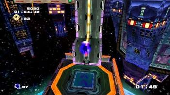 Sonic Adventure 2 (PS3) Final Rush Mission 1 A Rank