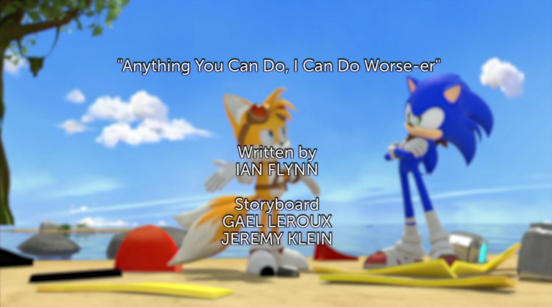 Sonic Boom S2E6 TC