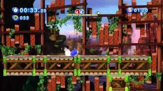 Sonic Generations Green Hill (Knuckles Mission) 1080 HD