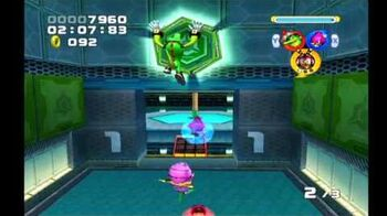 Sonic Heroes Power Plant (Team Chaotix)