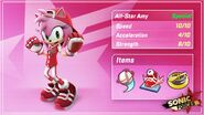 All Star Amy Stats