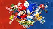Artwork - Mario & Sonic Rio 2016