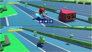 Mario & Sonic at the Rio 2016 Olympic Games - Kunckles VS Yoshi Triple Jump