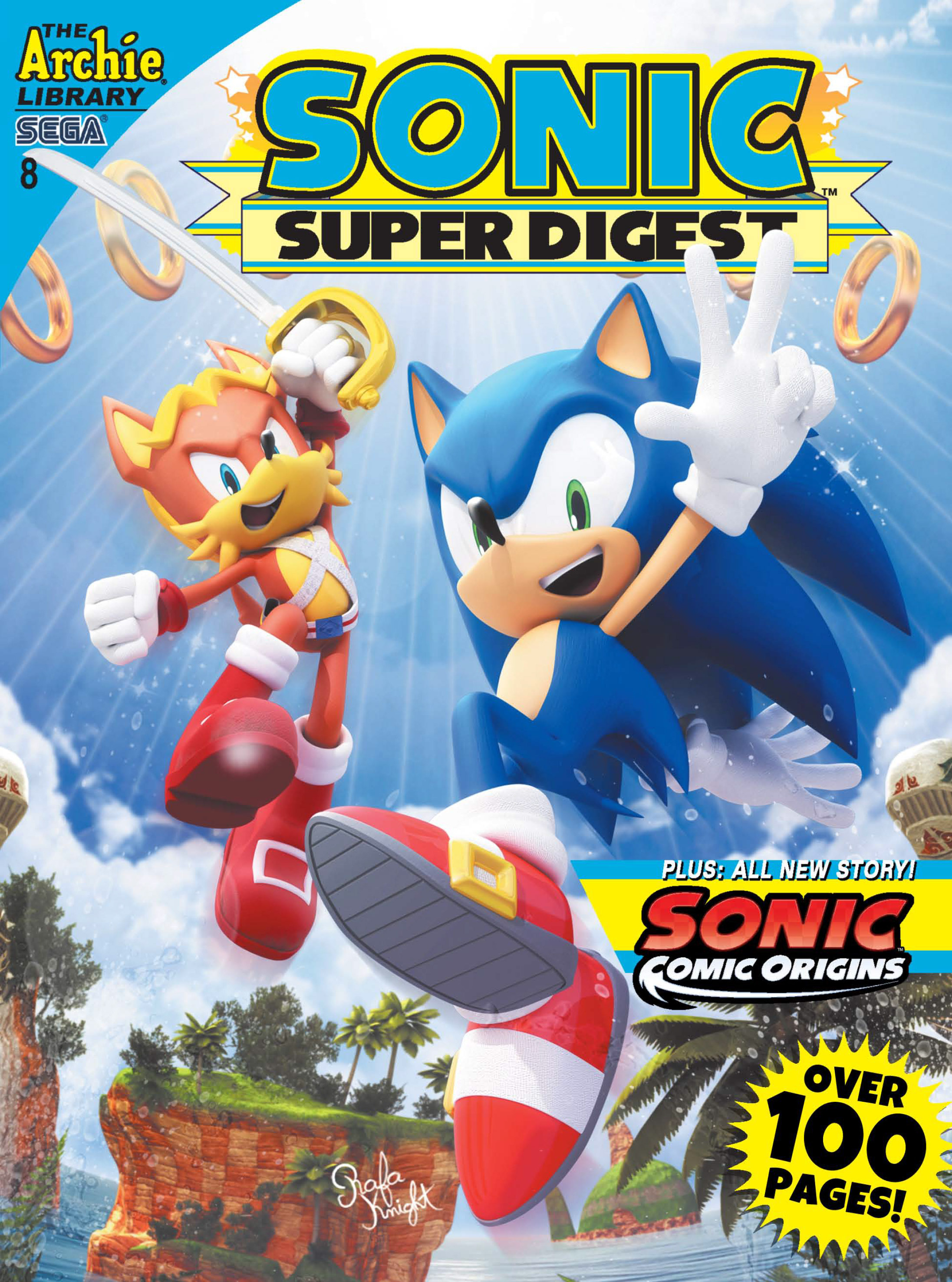 Archie Sonic Super Digest Issue 8 Sonic News Network