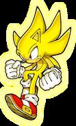 Sonic Art Assets DVD - Super Sonic - 1