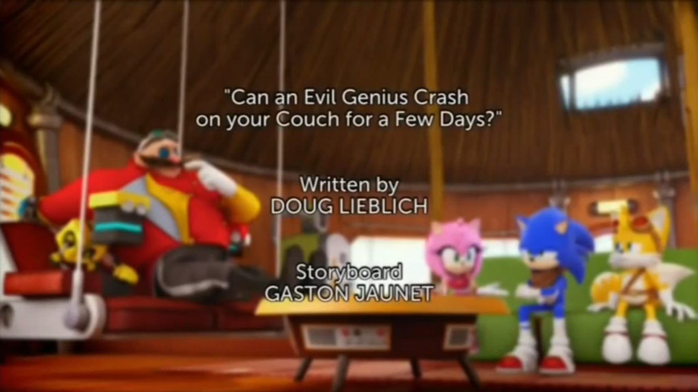 Sonic Boom Ep2 Title