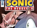IDW Sonic the Hedgehog N° 020