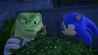 Vector and Sonic spy