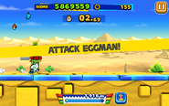 Desert Ruins (Sonic Runners) - Screenshot 2