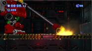 El Death Egg Robot atacando