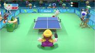 Mario & Sonic at the Rio 2016 Olympic Games - Wario VS Silver Table Tennis