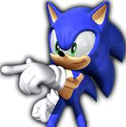 Rivals Sonic sprite 1