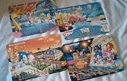 Sega World 1995 Calendar Pages