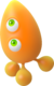 Sonic Colors - Orange Wisp