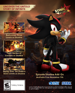Sonic Forces episode Shadow info