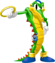 Vector the Crocodile - Knuckles' Chaotix