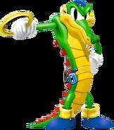 Vector the Crocodile - Knuckles' Chaotix