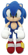 GE Sonic the Hedgehog plush