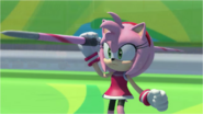 Mario & Sonic at the Rio 2016 Olympic Games - Amy Javelin Throw