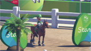 Mario & Sonic at the Rio 2016 Olympic Games - Luigi Equestrian