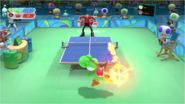 Mario & Sonic at the Rio 2016 Olympic Games - Table Tennis Yoshi with Super Dash