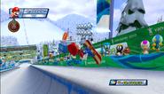 Mario Sonic Olympic Winter Games Gameplay 037