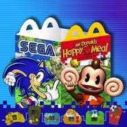 McDonald's SEGA Promotional