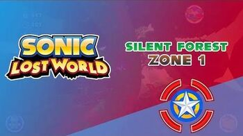 Silent Forest Zone 1 - Sonic Lost World