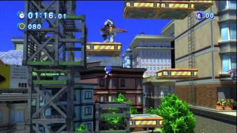 Sonic Generations - Red Star Ring Locations S-Rank City Escape Act 1