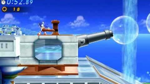 Sonic Generations 3DS - Classic Water Palace