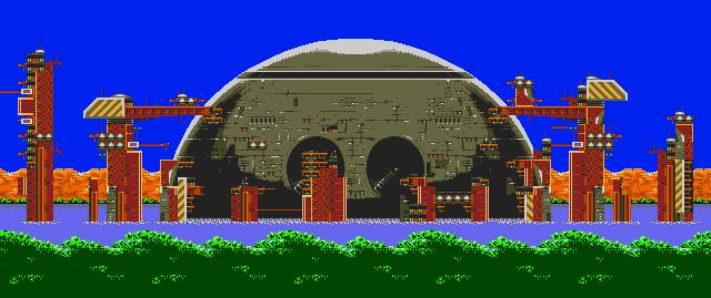 Death Egg Launch Base