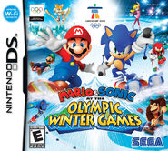 Mario Sonic Olympic Winter Games DS