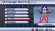 Metal Sonic's Jester Suit