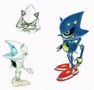 Metal Sonic Concept Art 02