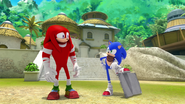 S1E41 Knuckles Sonic bros