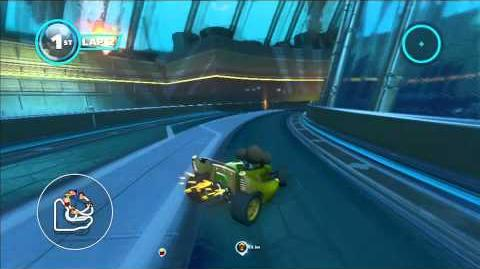 Sonic & All Stars Racing Transformed Burning Depths 1080 HD