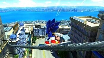 Sonic Generations HD - Cream Helping Hand (City Escape Zone)
