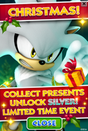 Sonic Jump Fever - Christmas Event Poster