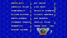 Sonic Mania (Sound Test)