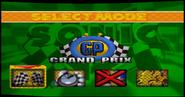 Sonic R menu 1