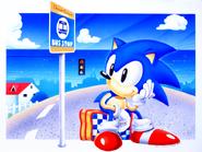 Sonic Screen Saver 5